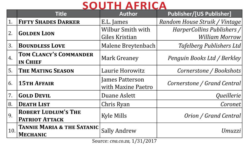 BestsellerJan2017SAfrica